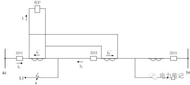 在3/2断路器接线中,每个元件的测量装置需接入相邻的两台ct测量